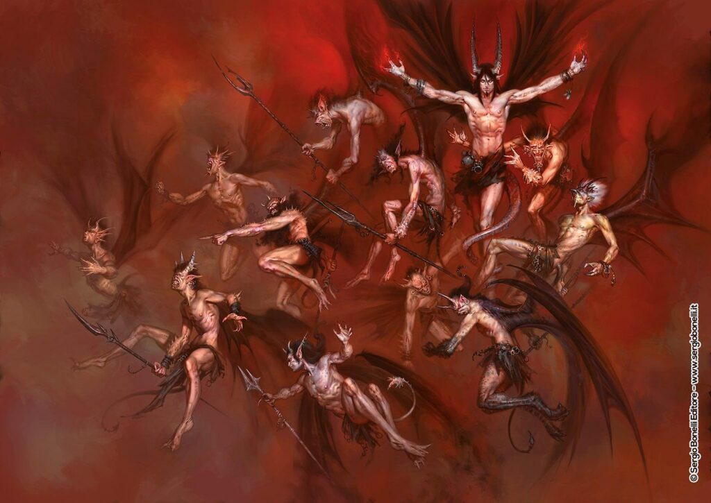 L'inferno di Dante Paolo Barbieri 4